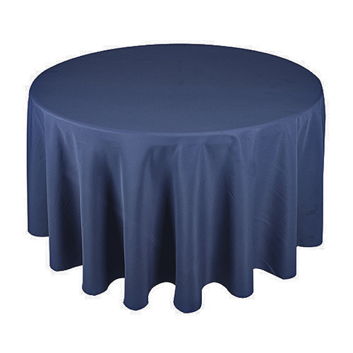 Poly Cloth 300cm Round; Navy