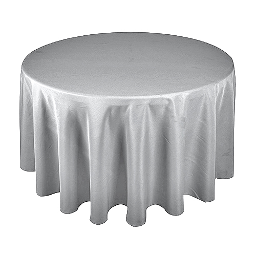 Poly Cloth 300cm Round; Light Grey