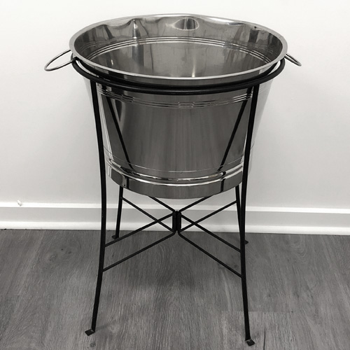 Ice Tub; Stainless On Stand
