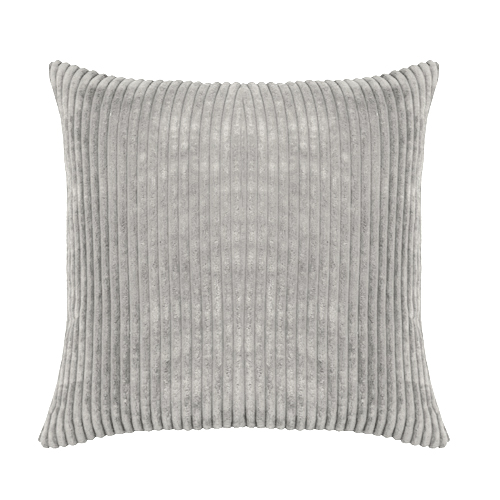 Scatter Cushion; Cord Grey