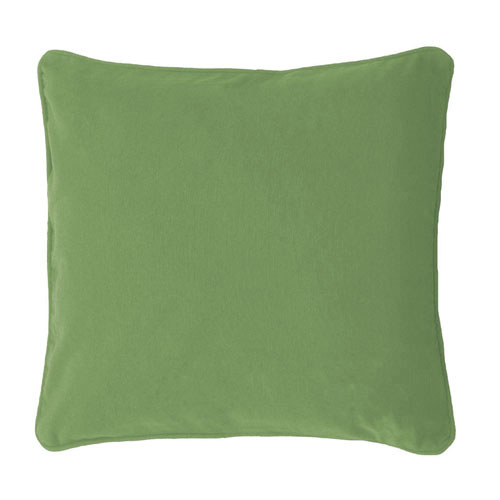 Scatter Cushion; Plain Green