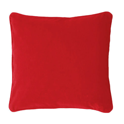 Scatter Cushion; Plain Red