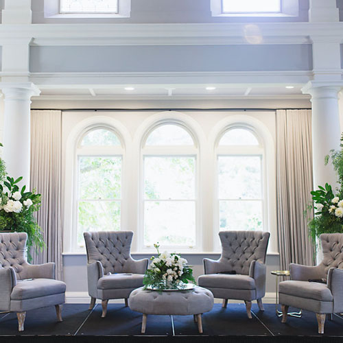 Armchair; Light Grey