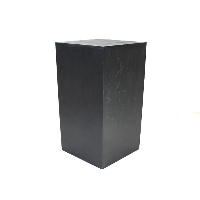 Pedestal/Plinth; Black 70cm