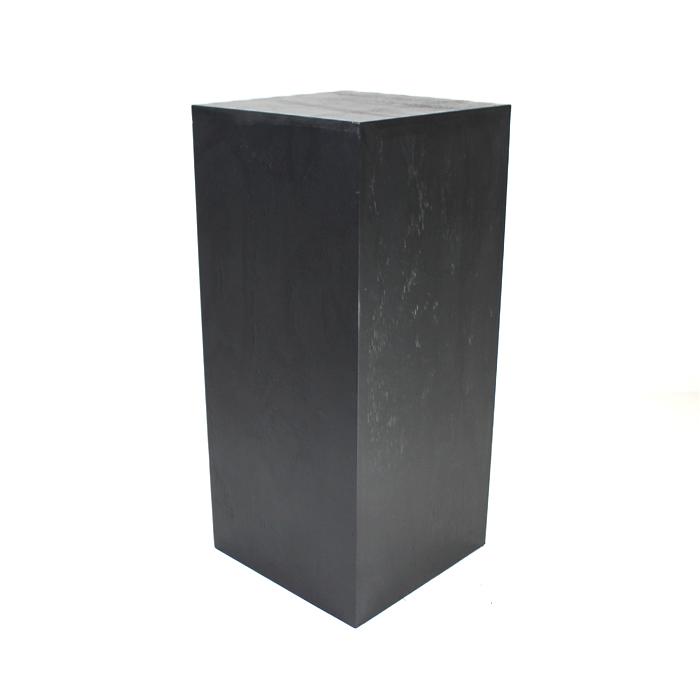 Pedestal/Plinth; Black 90cm