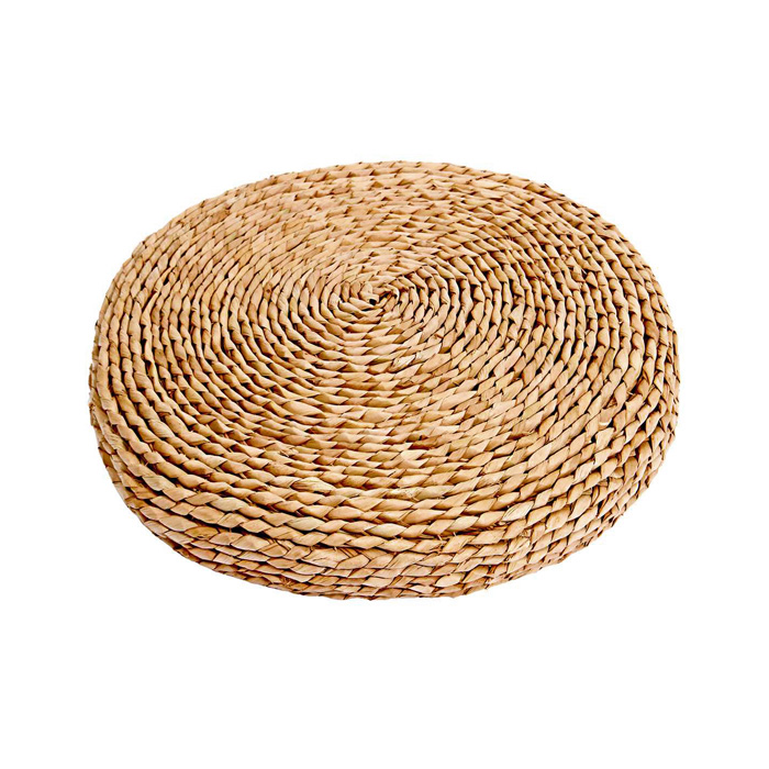 Floor Cushion; Rattan