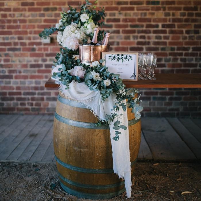 Wine Barrel; Whole