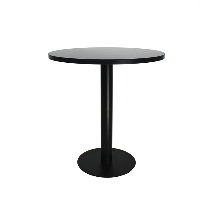 Cafe Table; Black