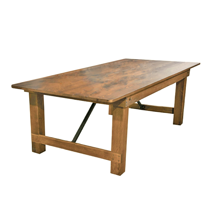 Farmhouse Table; 2.4m x 1m