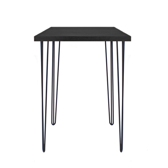Hairpin Bar Table Black/Black