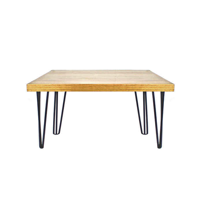 Hairpin Coffee Table Black/Oak