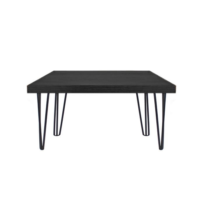 Hairpin Coffee Table Black/Black
