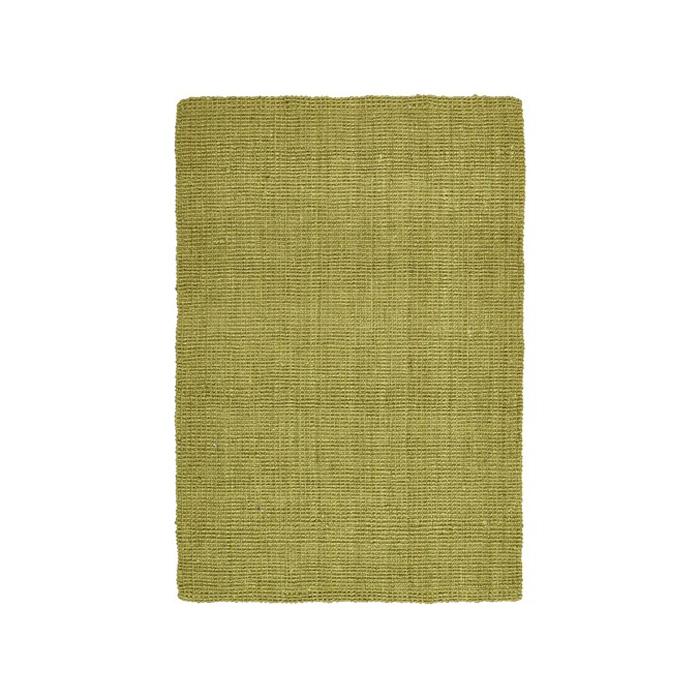 Olive Jute Rug; 225cm x 155cm
