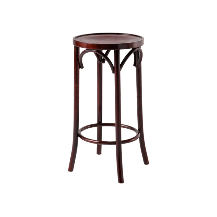 Bentwood Stool; Walnut