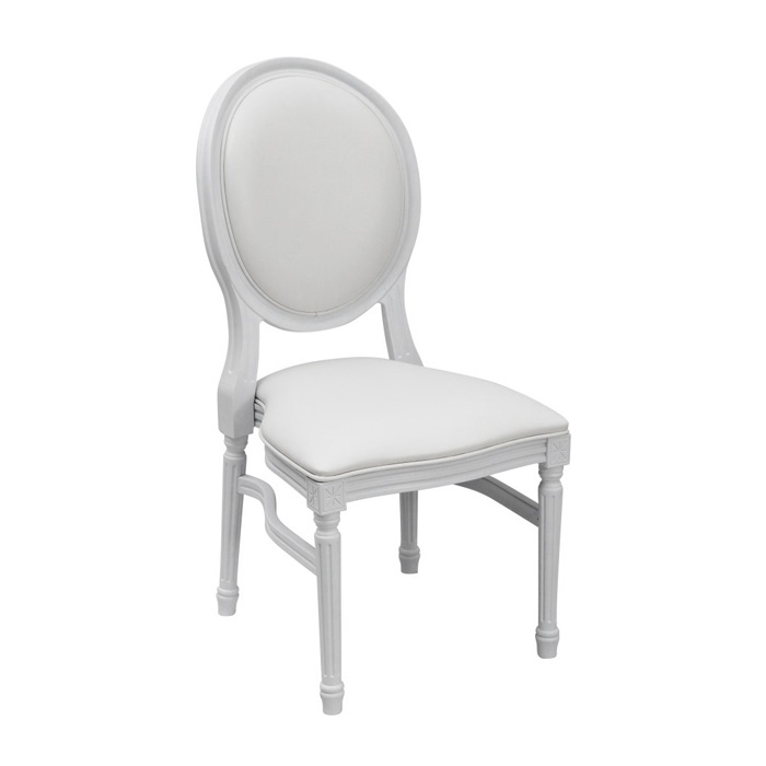 Louis Chair; White