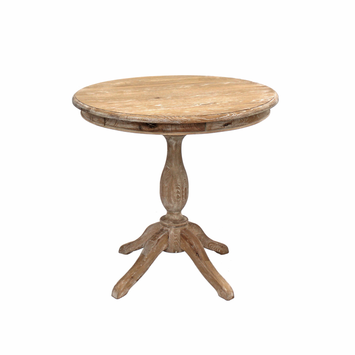 Provincial Cafe Table; Round